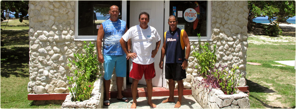 Jibacoa diving instructors
