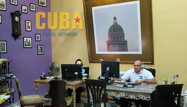CTN office in Havana
