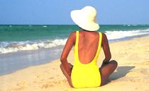 Santa Maria beach Havana