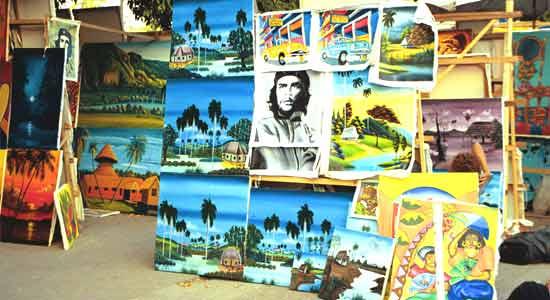 Havana street art galery