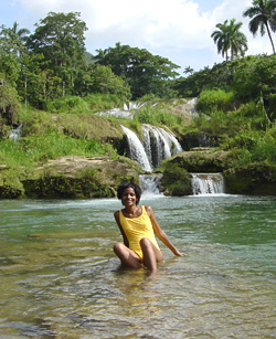 El Nicho beautiful water falls