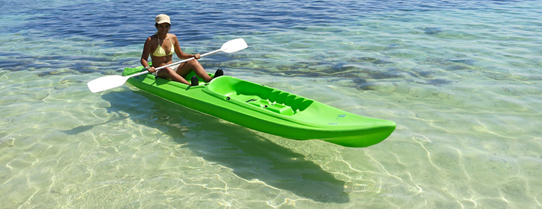 Enjoy kayaking