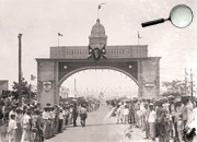 Entrance Arc to Santa Clara 1930