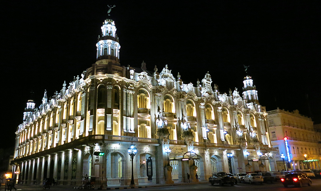 Great Theater Havana Cuba